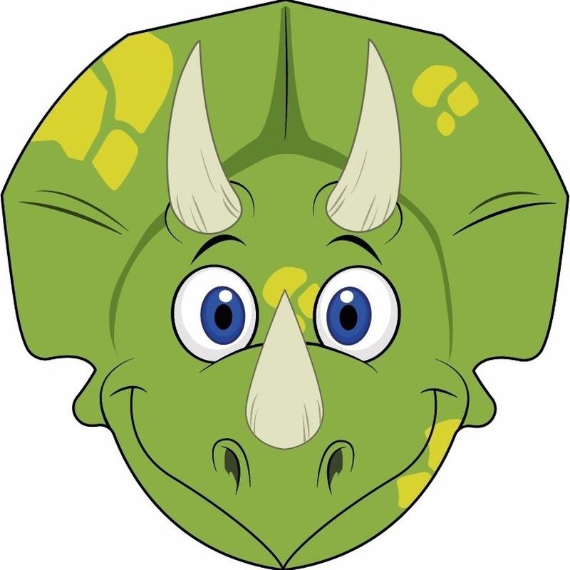 Kleurplaten Dino Masker.Kartonnen Dinosaurus Masker Voor Kinderen Voor Maar 2 75 Bij